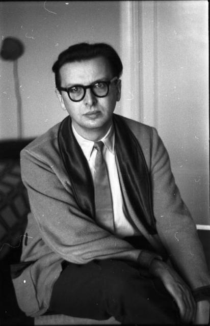 Z. Dłubak, Autoportret, ok.1950, 01-N-01-00369